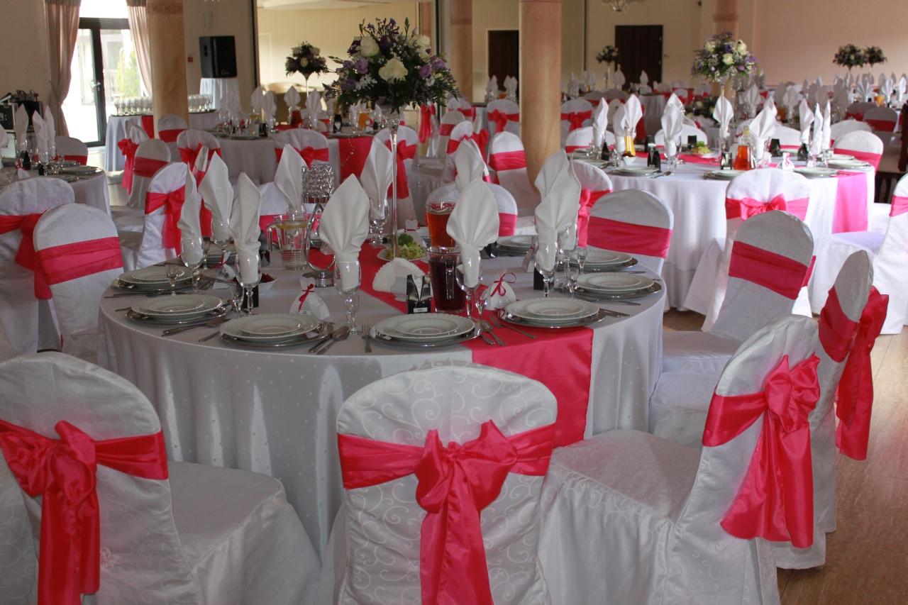 stoły weselne