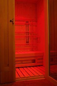 sauna w hotelu Rubbens& Monet