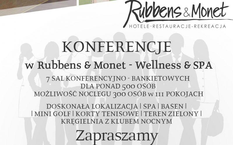 konferencje - oferta Rubbens & Monet