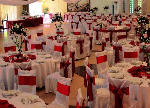 wesele na sali kolumnowej