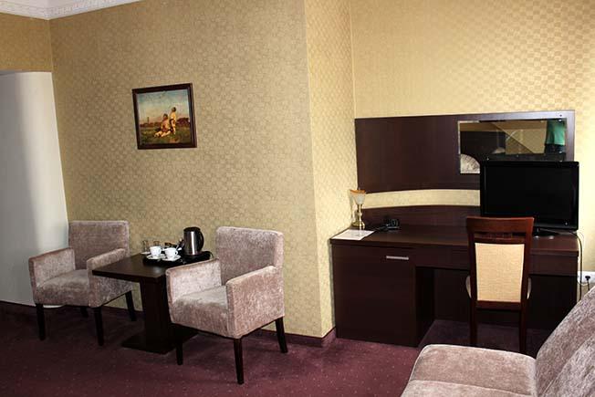 pokój hotelowy lux gold