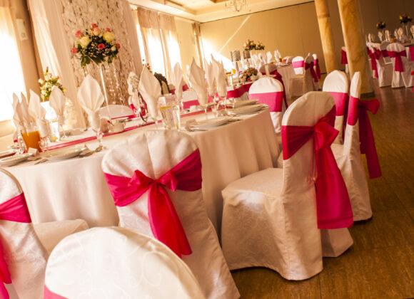 wesele w sali kwiatowej