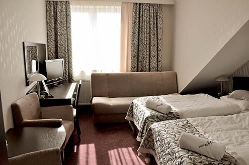 pokój w hotelu monet - widok