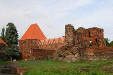 toruń zamek krzyżacki